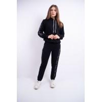 Женский спортивный костюм Кенди (черный)
