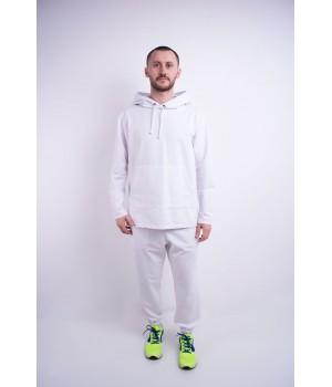 Мужской спортивный костюм Майрин (белый)