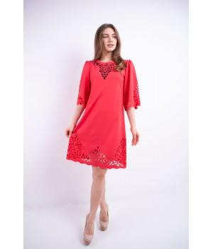 Платье Валенсия (коралл)
