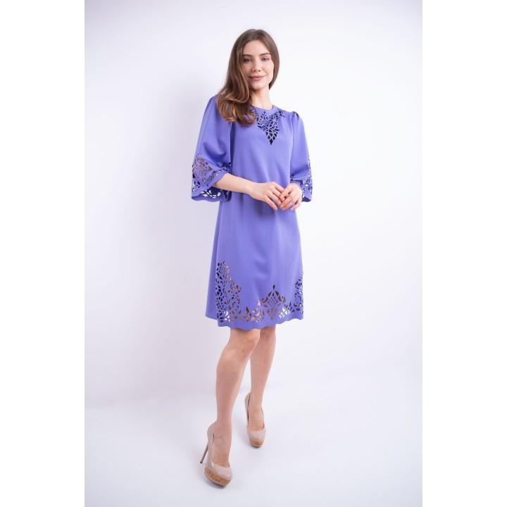 Платье Валенсия (сиреневый)