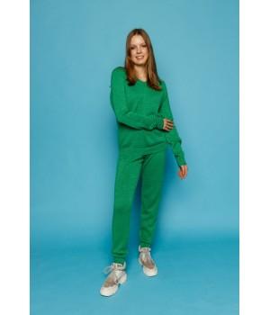 Спортивный костюм Терри (зеленый)