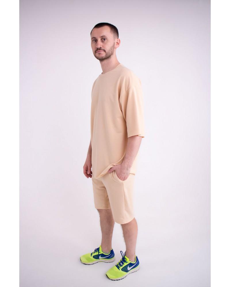 Мужская футболка Элен (бежевый)