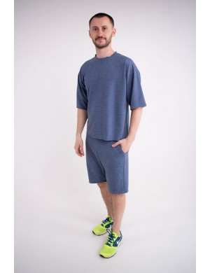 Мужская футболка Элен (джинс)