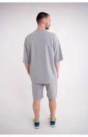 Мужская футболка Элен (серый)