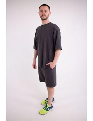 Мужская футболка Элен (темно серый)