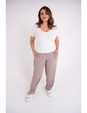 Женские брюки Кроули (бежевый)
