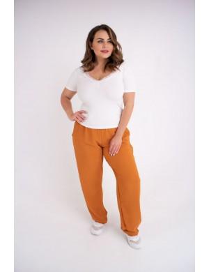 Женские брюки Кроули (горчица)