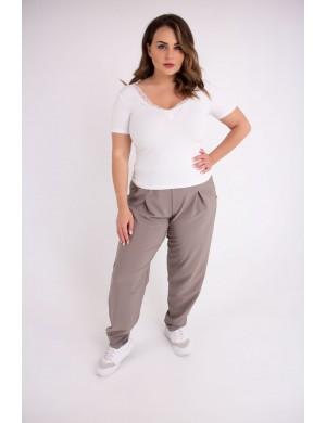 Женские брюки Кроули (темно бежевый)