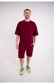 Мужская футболка Локи (бордовый)