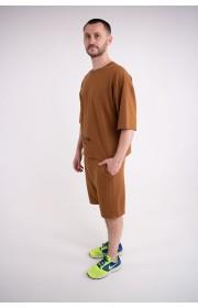 Мужская футболка Локи (горчица)