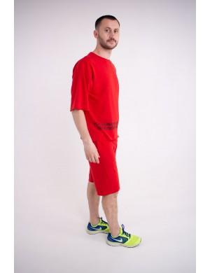 Мужская футболка Локи (красный)