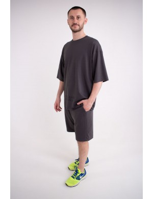 Мужская футболка Локи (темно серый)