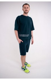 Мужская футболка Локи (зеленый)