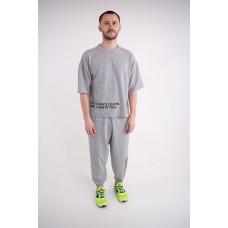 Мужской спортивный костюм Милат (серый)