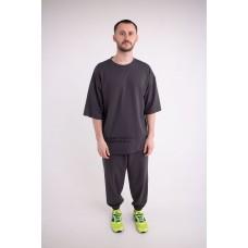 Мужской спортивный костюм Милат (темно серый)