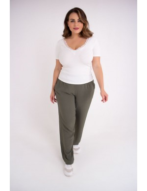 Женские брюки Кроули (хаки)