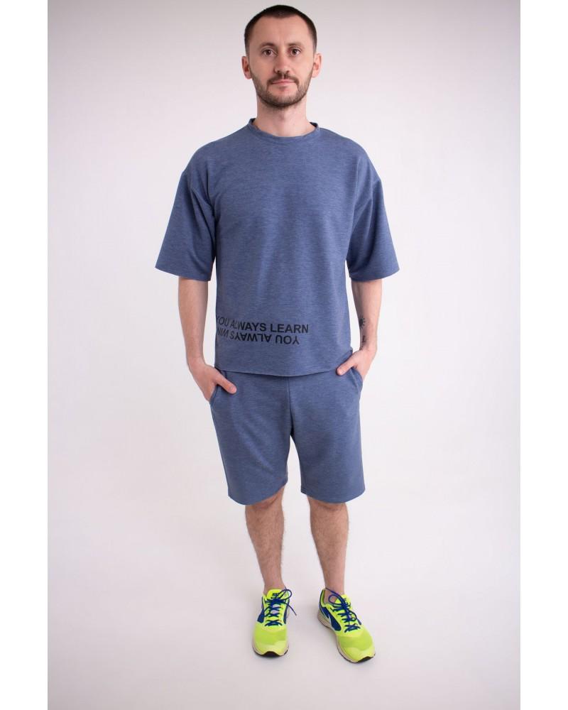 Мужской спортивный костюм Один (джинс)