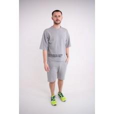 Мужской спортивный костюм Один (серый)