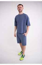 Мужской спортивный костюм Питт (джинс)
