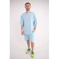 Мужской спортивный костюм Питт (голубой)
