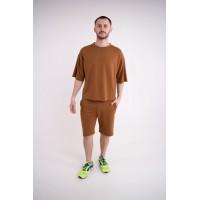 Мужской спортивный костюм Питт (горчица)