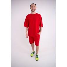 Мужской спортивный костюм Питт (красный)