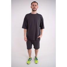 Мужской спортивный костюм Питт (темно серый)