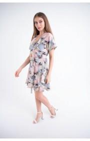 Купить женское молодежное платье Рюша (абстракция)