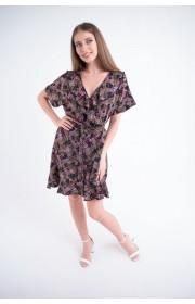 Купить женское молодежное платье Рюша (геометрия)