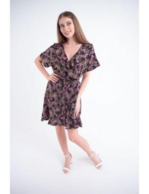 Женское платье Рюша (геометрия)