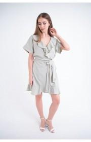 Купить женское молодежное платье Рюша (мятный)