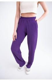 Женские брюки Роки (фиолетовый)
