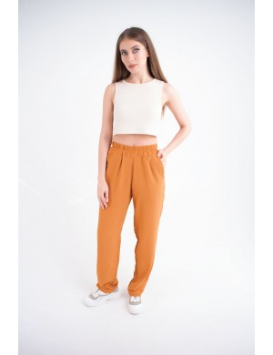 Женские брюки Роки (горчица)