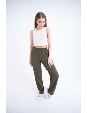 Женские брюки Роки (хаки)