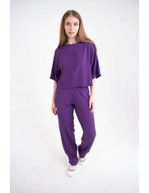 Женский молодежный костюм Сара (фиолетовый)