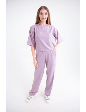 Женский молодежный костюм Сара (лиловый)