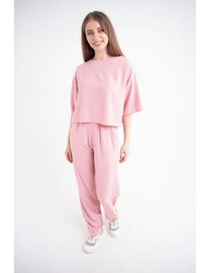 Женский молодежный костюм Сара (розовый)