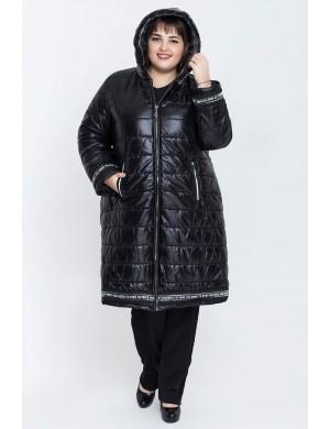 Женская молодежная зимняя куртка Клози (черный)