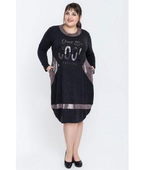 Платье Панацея (серый)