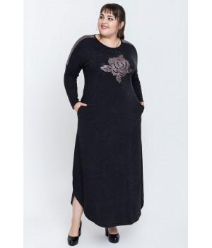 Платье Розелла (черный)