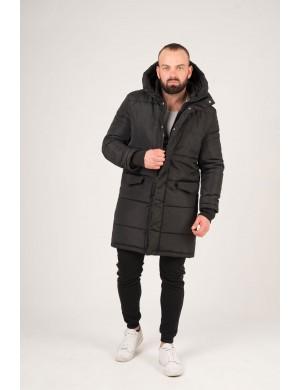 Мужская Зимняя куртка Дени (черный)