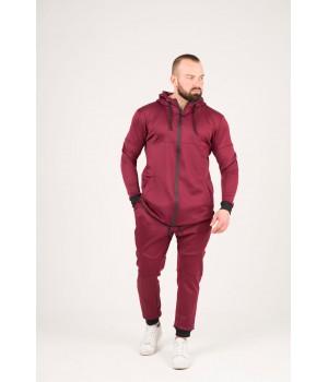 Мужской спортивный костюм Стори (бордовый)