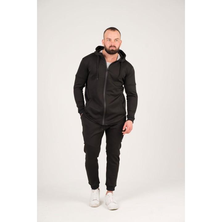 Мужской спортивный костюм Стори (черный)