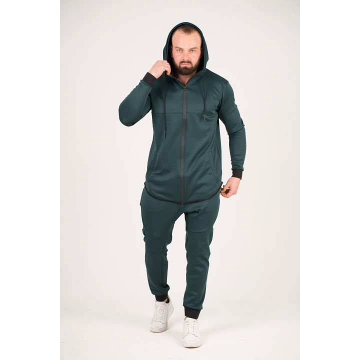 Мужской спортивный костюм Стори (изумруд)
