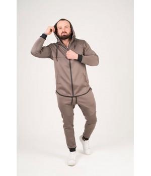 Мужской спортивный костюм Стори (серый)