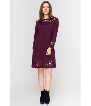 Платье Касита (бордовый)