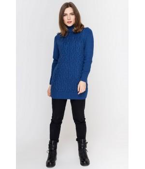 Туника - платье Ида (джинс)