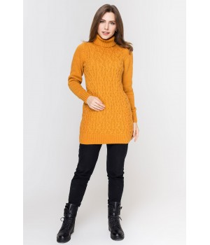 Туника - платье Ида (горчица)