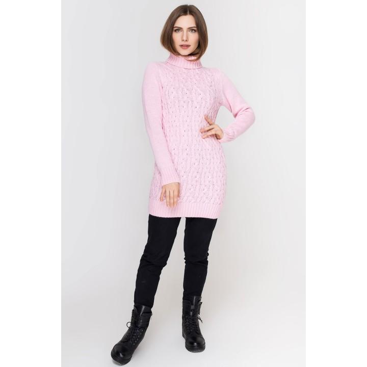 Туника - платье Ида (розовый)