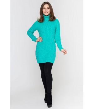 Туника - платье Ида (салат)
